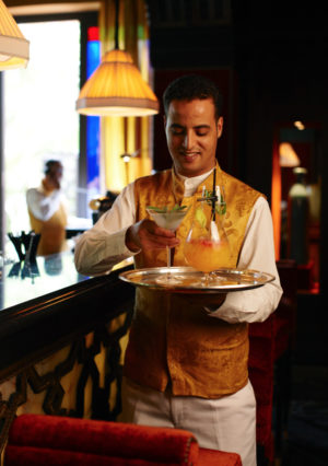 Barman-La-Mamounia